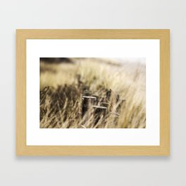 Focus the important things Framed Art Print