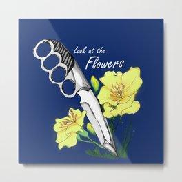Carol's Flowers Metal Print
