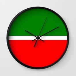 flag of Tatarstan Wall Clock