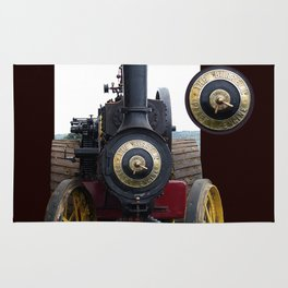 Steam Power 1 - Tractor Rug