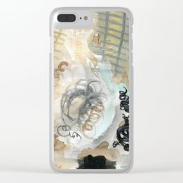 Trying to Climb Clear iPhone Case