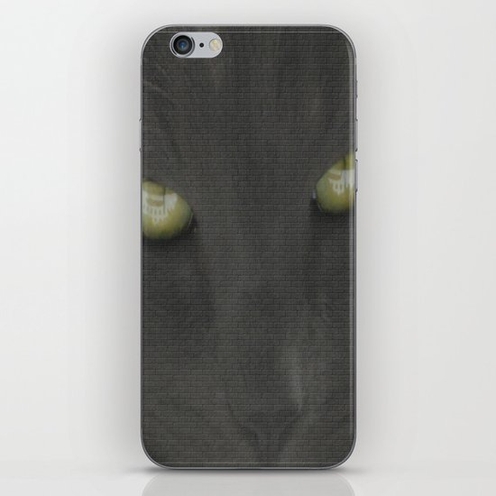walls have eyes iPhone & iPod Skin