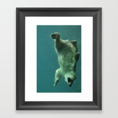 Plunge Framed Art Print