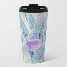 Heavenly Lavender Water Color Floral Travel Mug