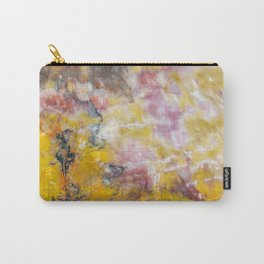 Petrified Wood Art Carry-All Pouch