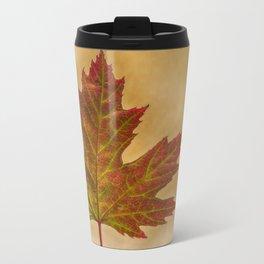 Autumn Color Metal Travel Mug