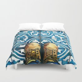 Art Beneath Our Feet - Mexico City Duvet Cover