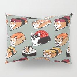 Sushi  Corgi Pillow Sham