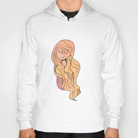 rapunzel Hoodies featuring Rapunzel by Clover