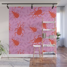 Insects have never been cuter Wall Mural