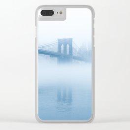 Big Bridge - Big Dreams - Brooklyn Clear iPhone Case