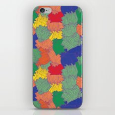 Floral Chaos iPhone & iPod Skin