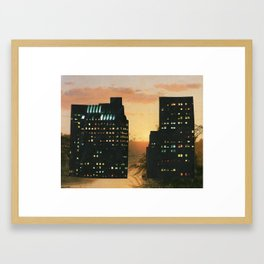 You Are Here Now/Cricket Noises Framed Art Print