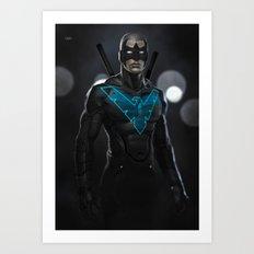 Nightwing 02 Art Print