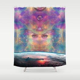 The Awakening of Gaea Shower Curtain