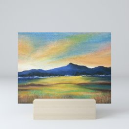 Morning Bliss, Imaginary Landscape Mini Art Print