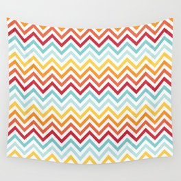 Rainbow Chevron #2 Wall Tapestry