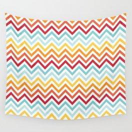 Rainbow Chevron #2 Wall Tapestry