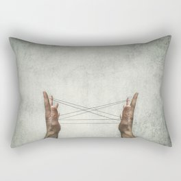 cats cradle Rectangular Pillow
