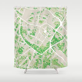 Trees Of Opava Shower Curtain