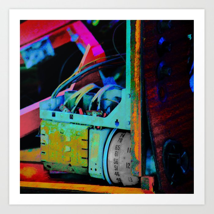 Murder Shack Electronics Art Print