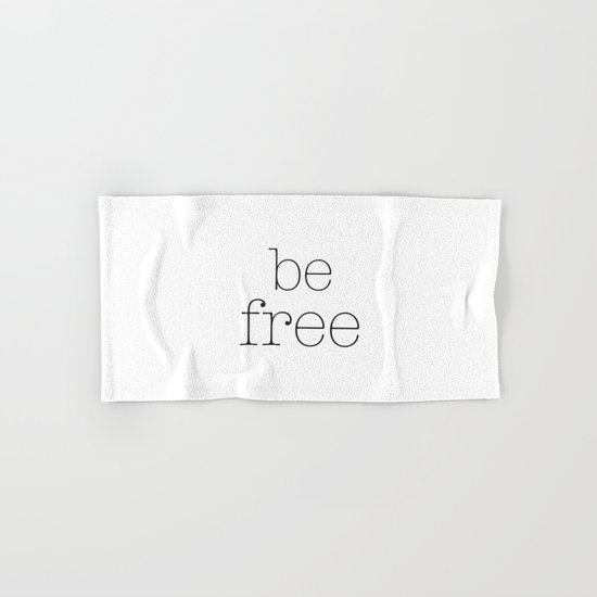 Be Free Hand & Bath Towel