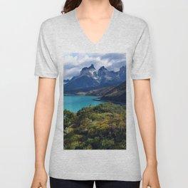 Torres del Paine Unisex V-Neck