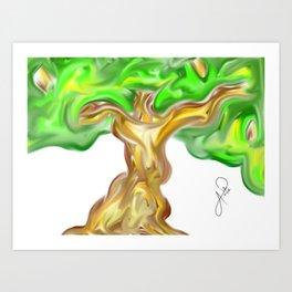 Madre Naturaleza / Mother Earth: Arbol 009 / Tree 009  Art Print