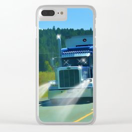 Supplying the Nation Clear iPhone Case
