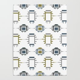 African Cloth Poster