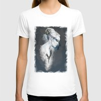 black swan T-shirts featuring Black Swan by Susana Miranda ilustración