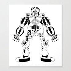 Jaeger //: Hit Me Canvas Print