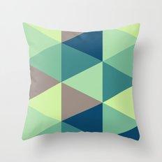 I spy triangles Throw Pillow