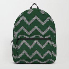 Potterverse Chevrons - Slytherin Green Backpack
