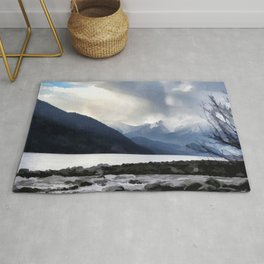 Majestic Mountains Rug