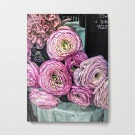 Ranunculus, Japan Metal Print