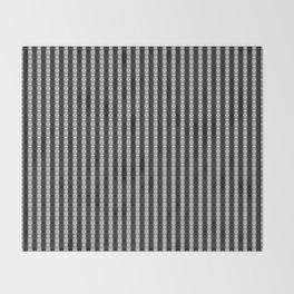 Abstract Tribal Zebra Pattern Throw Blanket