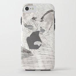 German Shepherd Texture Collage iPhone Case
