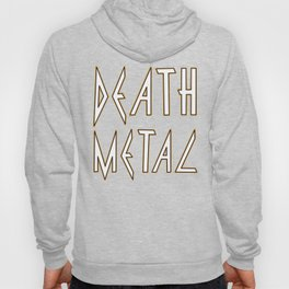 Death Metal Hoody