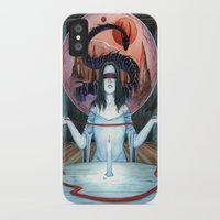 third eye iPhone & iPod Cases featuring Third Eye by Michael Brack