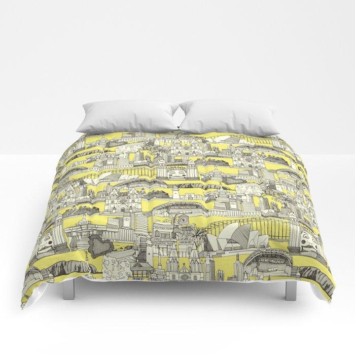 AUSTRALIA toile de jouy Comforters