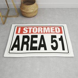 Area 51 TK421 Abandoned Post Rug