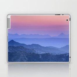 """Mountain dreams"". At sunset. Laptop & iPad Skin"