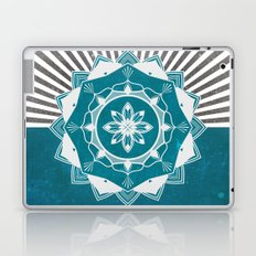 Don't Mess With Your Rising Sun (Teal) Laptop & iPad Skin