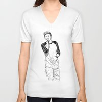 niall V-neck T-shirts featuring niall by otp-hedgefrog