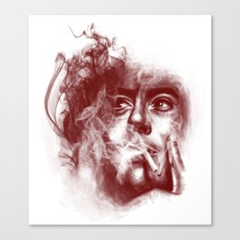 smokescreens and mirrors Canvas Print