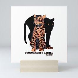 Munich Zoo Big Cats Mini Art Print