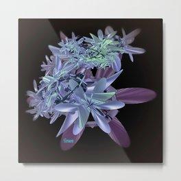 Blue Beauty Metal Print