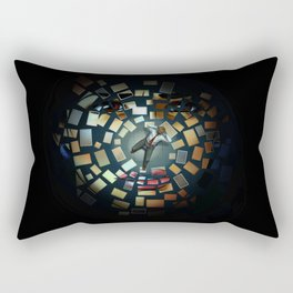 Luther - Decoupage Rectangular Pillow