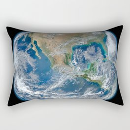 Our Beautiful Blue Marble Earth Rectangular Pillow